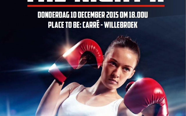 Met de UBF-ACA naar Fight Of The Night!