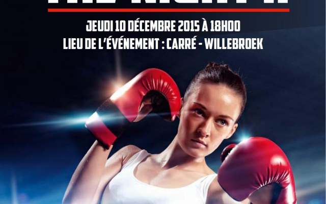 Avec L'UBF-ACA au Fight of The Night!