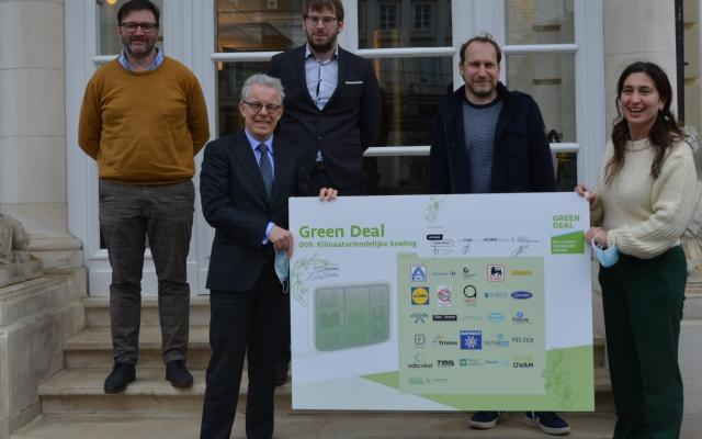 Green Deal Klimaatvriendelijke koeling!